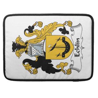 Escudo de la familia de Echlin Funda Macbook Pro