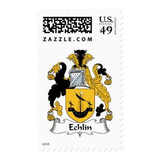 Escudo de la familia de Echlin Sello