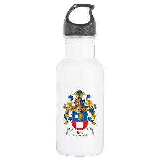 Escudo de la familia de Eck Botella De Agua De Acero Inoxidable