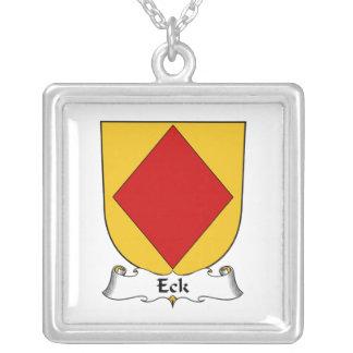 Escudo de la familia de Eck Colgante Cuadrado