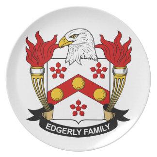 Escudo de la familia de Edgerly Platos