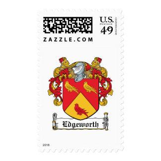 Escudo de la familia de Edgeworth Franqueo