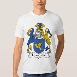 Escudo de la familia de Edmonds Playera