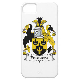 Escudo de la familia de Edmunds iPhone 5 Case-Mate Cárcasa