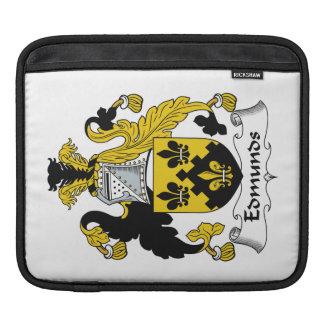 Escudo de la familia de Edmunds Funda Para iPads