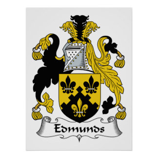 Escudo de la familia de Edmunds Impresiones