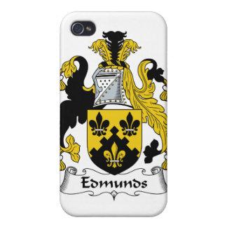 Escudo de la familia de Edmunds iPhone 4 Cobertura