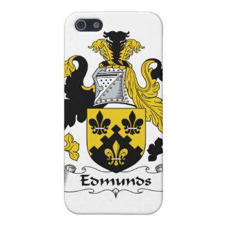Escudo de la familia de Edmunds iPhone 5 Cárcasa