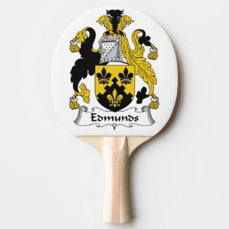 Escudo de la familia de Edmunds Pala De Tenis De Mesa