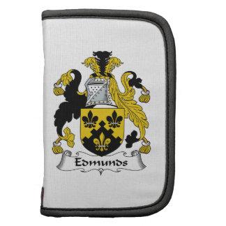Escudo de la familia de Edmunds Planificador