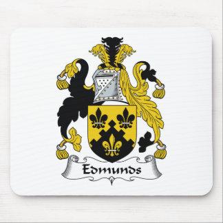 Escudo de la familia de Edmunds Alfombrillas De Raton