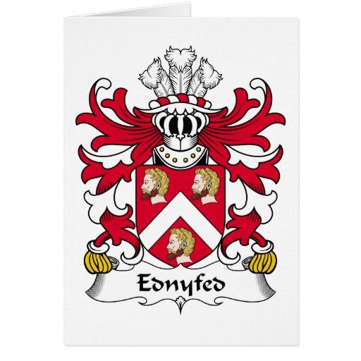 Escudo de la familia de Ednyfed Felicitaciones