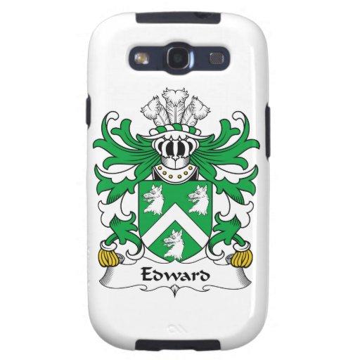 Escudo de la familia de Edward Galaxy SIII Coberturas