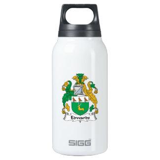 Escudo de la familia de Edwards Botella Isotérmica De Agua