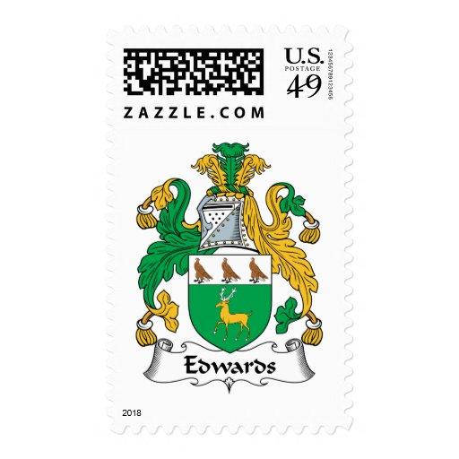 Escudo de la familia de Edwards Envio