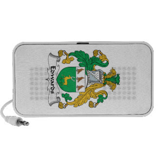 Escudo de la familia de Edwards iPod Altavoz