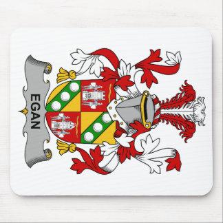 Escudo de la familia de Egan Alfombrillas De Raton