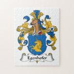 Escudo de la familia de Egenhofer Puzzles Con Fotos