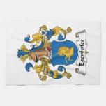 Escudo de la familia de Egenhofer Toallas