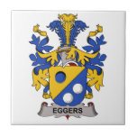 Escudo de la familia de Eggers Azulejos Cerámicos