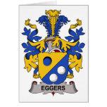 Escudo de la familia de Eggers Felicitación