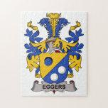 Escudo de la familia de Eggers Rompecabezas Con Fotos