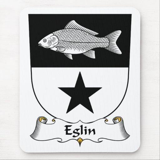 Escudo de la familia de Eglin Alfombrillas De Ratones