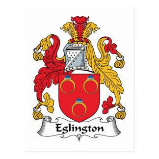 Escudo de la familia de Eglington Postal