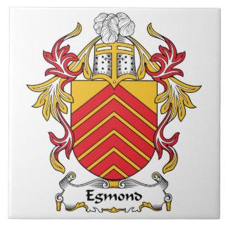 Escudo de la familia de Egmond Azulejo Cuadrado Grande