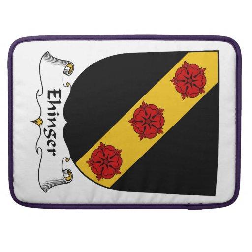 Escudo de la familia de Ehinger Funda Para Macbooks