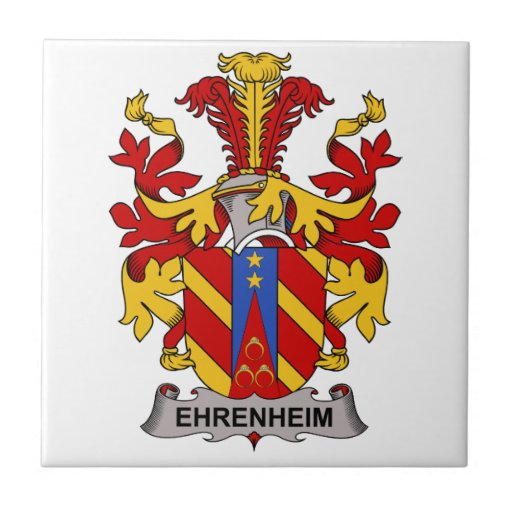 Escudo de la familia de Ehrenheim Tejas Ceramicas
