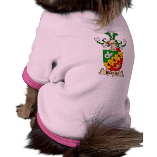 Escudo de la familia de Eichler Camisa De Mascota