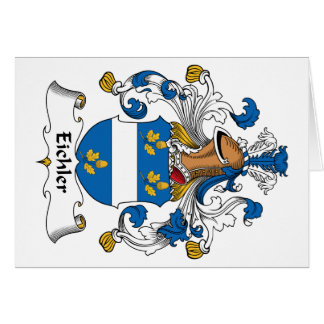 Escudo de la familia de Eichler Felicitaciones