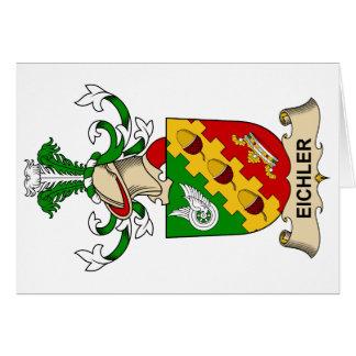 Escudo de la familia de Eichler Felicitacion
