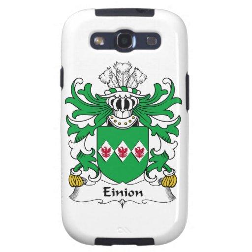 Escudo de la familia de Einion Galaxy S3 Cobertura