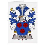 Escudo de la familia de Eisen Felicitacion