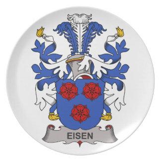 Escudo de la familia de Eisen Plato