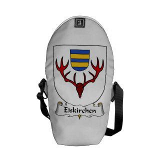 Escudo de la familia de Eiskirchen Bolsas Messenger