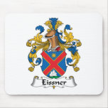Escudo de la familia de Eissner Tapete De Ratones