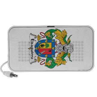 Escudo de la familia de Eizaguirre iPod Altavoz