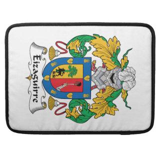 Escudo de la familia de Eizaguirre Fundas Macbook Pro