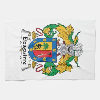 Escudo de la familia de Eizaguirre Toallas
