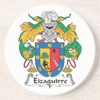 Escudo de la familia de Eizaguirre Posavasos Diseño