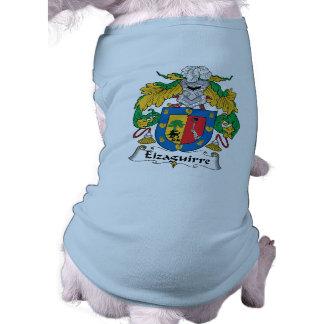 Escudo de la familia de Eizaguirre Ropa Para Mascota
