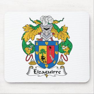 Escudo de la familia de Eizaguirre Alfombrillas De Raton