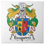 Escudo de la familia de Eizaguirre Tejas Ceramicas