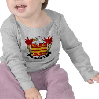 Escudo de la familia de Elam Camiseta