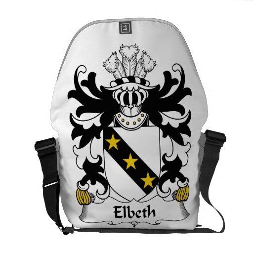 Escudo de la familia de Elbeth Bolsa De Mensajería