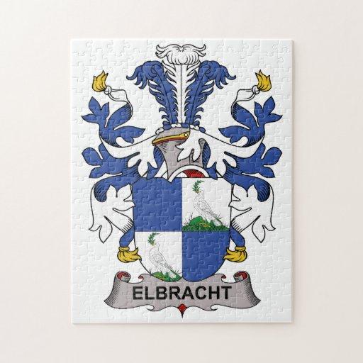 Escudo de la familia de Elbracht Puzzle Con Fotos