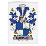 Escudo de la familia de Elbracht Tarjeton